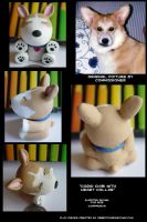 Corgi with Heart Collar chibi by CatharsisJB