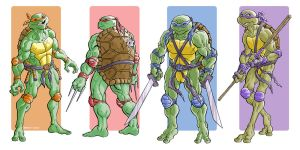 Turtle Power by davidjcutler