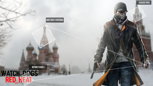 Watch_Dogs - Red Heat Wallpaper by BarabanRUS