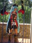 hatsune miku hato pirate cosplay by miichaelis