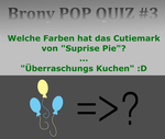 Pop Quiz #3 GER by PonyHD
