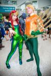 Atlantean Royalty | Aquaman and Mera by tenleid