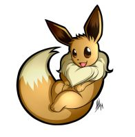 Eevee Sticker by Smudgeandfrank