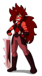 Tiny RED Jasper by The-Insignia