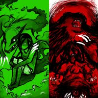 Wrath and Envy by Ormagron