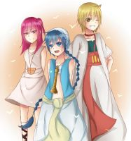Magi Trio by PineNAPPO