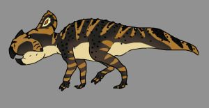Protoceratops by Spikeheila