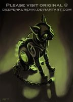 Cat-like Device -Deeperkurenai by Robot-drawing-club