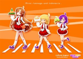 Mirai Suenaga and Indonesia by Zeikai