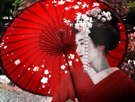 Geisha-red by Green21