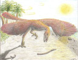 Archaeopteryx lithographica by Agahnim