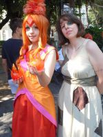Flame and Raggedy princess by JillianPandemonium