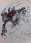 Darkrai Concept Sketch by CasteelArt