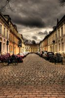 Cobbled Street by ReaperManHK