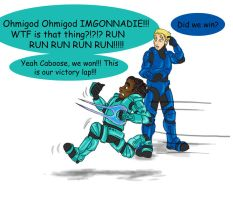 RvB Comic: Spine of Steel by RamblinQuixotic