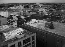 New Orleans Roof Tops 02 by Zerona000