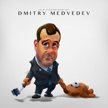Dmitry Medvedev by creaturedesign