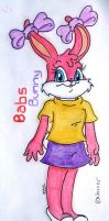 Babs bunny colored by davidcool1989
