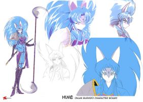 Hime character board by hinomars19