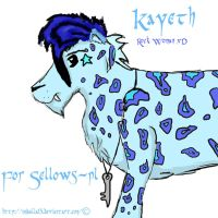 Kayeth for Sellows-pl by Nebulla13