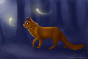 Silent_night by LelianaFox