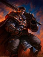 Garen League of Legends by DaveRapoza