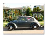 1965 Black VW Beetle by DocSonian