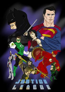 JusticeLeague by Gilliland35