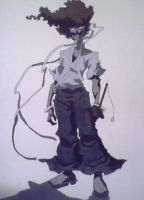 Afro Samurai by vince316