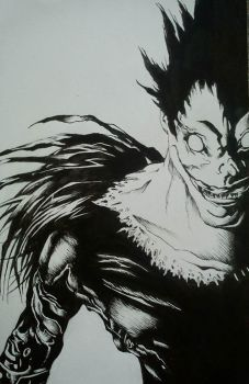 riuk death note by S0D0MIA