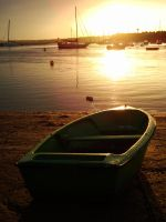 Lonely Boat by Sonia-Rebelo