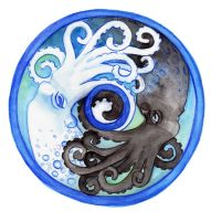 Duality of the cephalopod by dancingheron