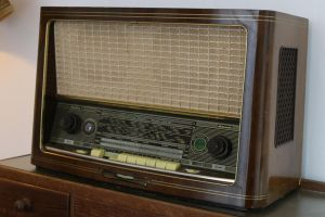 Old radio Stock 01 by Malleni-Stock