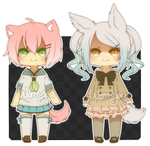 [OPEN + EXTRAS] Kemonomimi Adopts by WanNyan