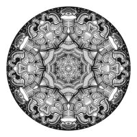 Mandala drawing 11 by Mandala-Jim