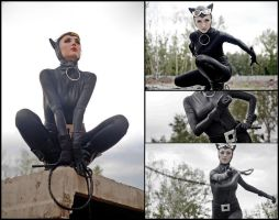 Catwoman by elleblink