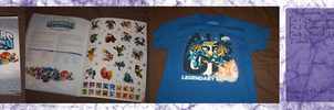 .: Skylanders stuff :. by BeachBumDunkin
