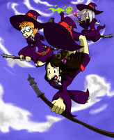 Little Witch Academia by metaEAT