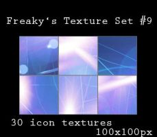 Freakys Texture Set No9 Icons by freaky-x