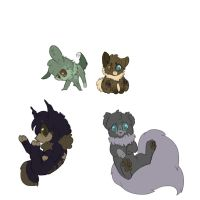 Cheap Adoptables {4 Left} by Ibthehare