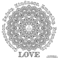 Peace Mandala by WelshPixie