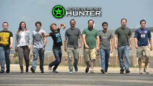 Achievement Hunter Wide Shot Wallpaper by masteroffunny