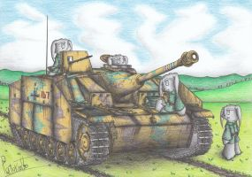 StuG III Ausf. G Tank by Patoriotto