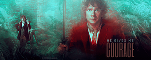 he gives me courage Sig by romansalad