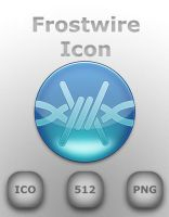 Frostwire Icon by GreasyBacon