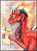 ACEO for Dragarta by Naseilen
