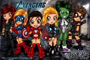 The Avengers by JusterNeko