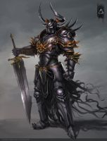 Chaos Knight by YENIN