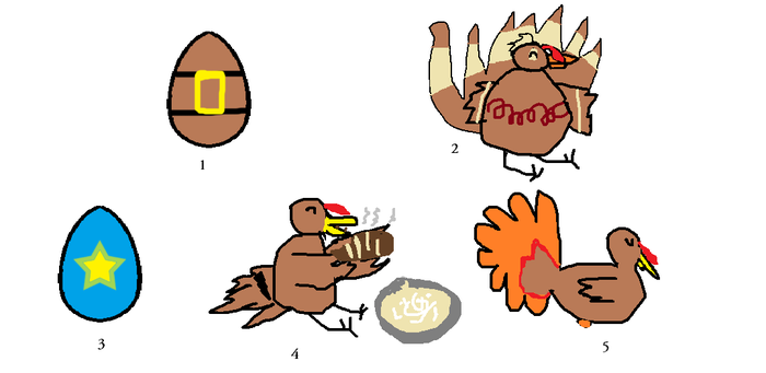 Turkey Egg Adopts and Hatch-lings (free-read rules by GoldenAltaira