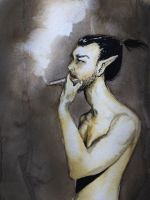 Smoker by mikeytykey